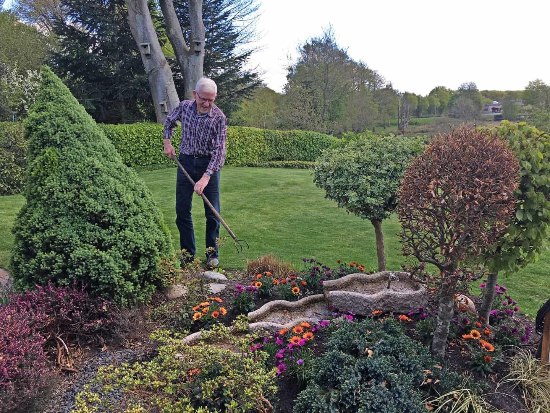 Seniorer tager på tur i genforeningens tegn